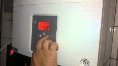 Как включить газовый котел на отопление?