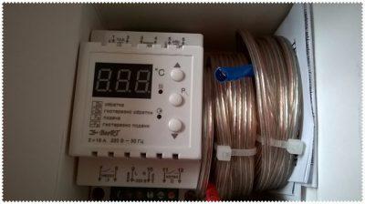 Термореле для электрокотла отопления